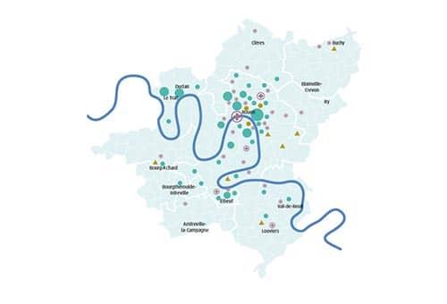 Bassin de vie de Rouen : hébergements et logements dédiés aux seniors (sept. 2015