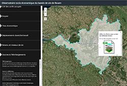 Observatoire socio-economique Bassin de vie de Rouen
