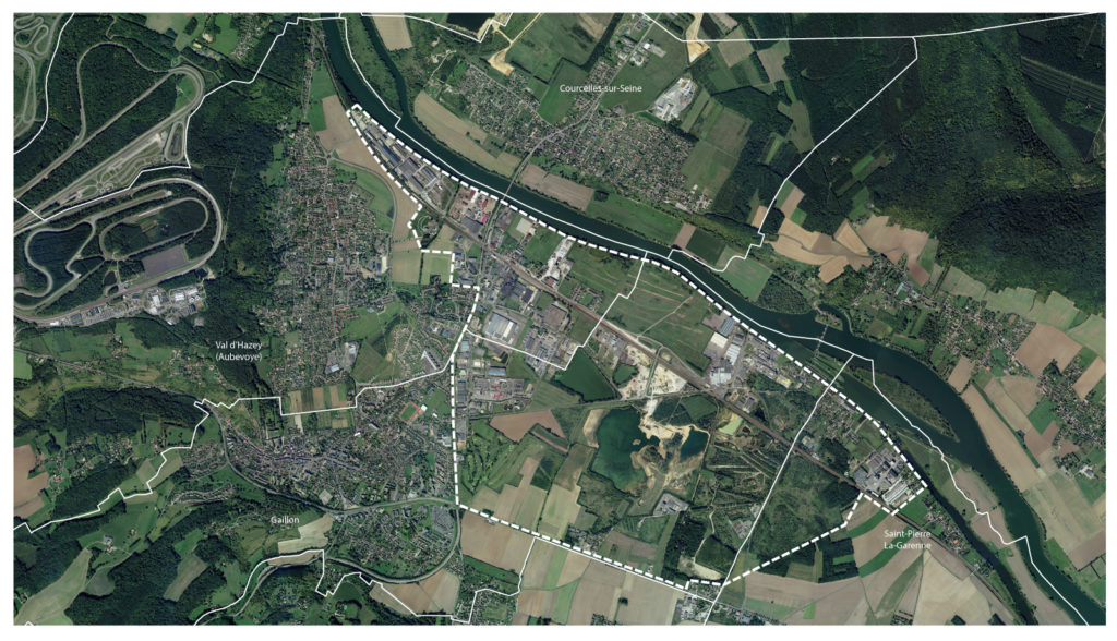 AURBSE - Val d'Hazey-Gaillon -Situation