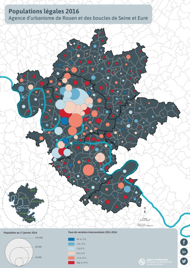 AURBSE : Populations légales 2016