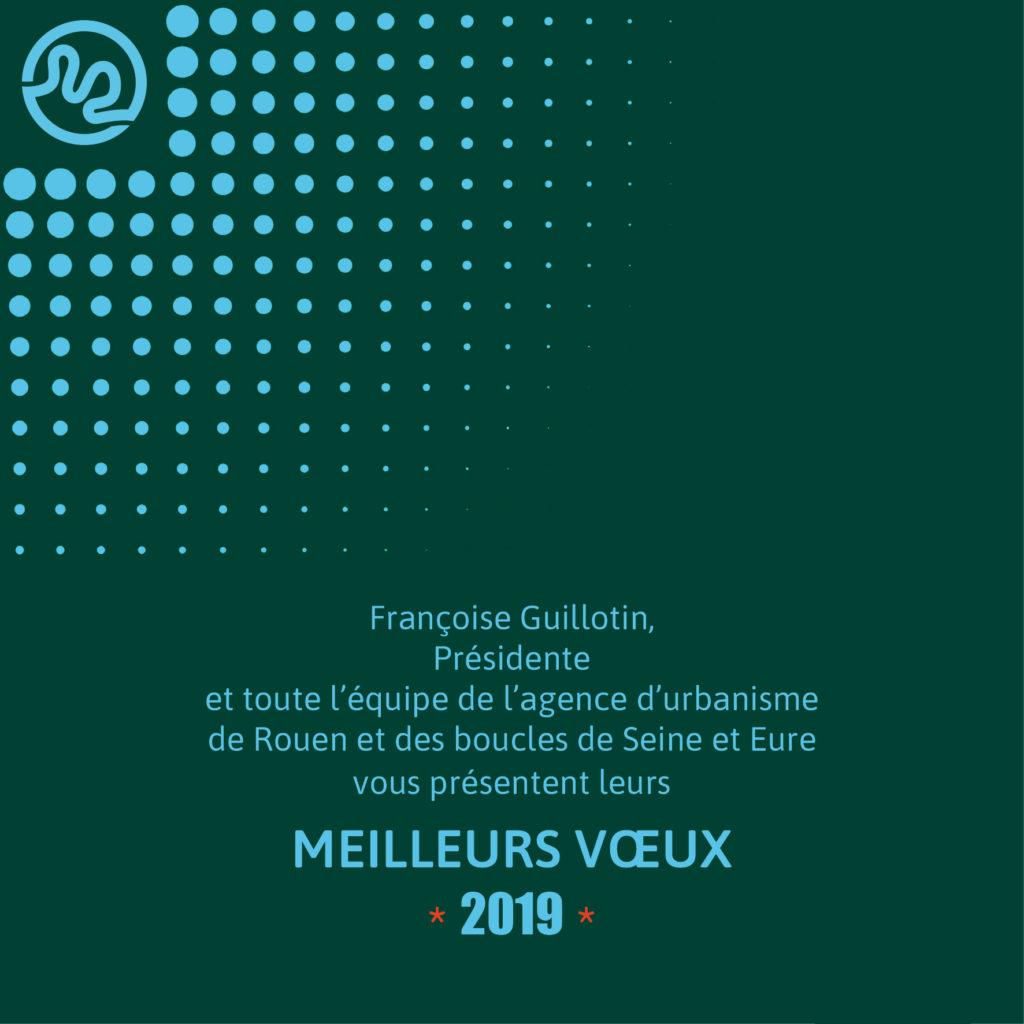 Voeux 2019 de l'agence d'urbanisme de Rouen