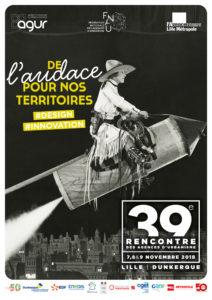 Affiche 39e Rencontre Agences d'urbanisme