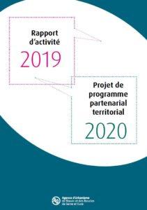 Couverture programme de travail 2020 - Agence d'urbanisme de rouen et des boucles de Seine et Eure